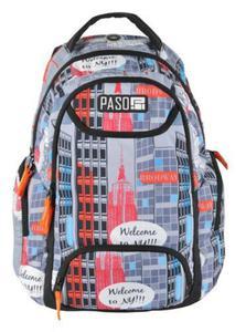 Plecak szkolny wycieczkowy 17-2908UY Paso - 2850447114