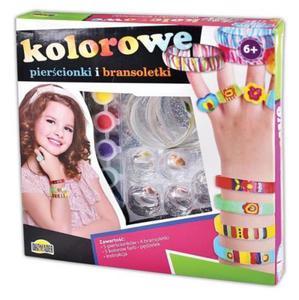 Kolorowe pierścionki i bransoletki Dromader - 2857570590