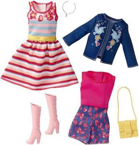 Zestaw modne ubranka i akcesoria FCT81 Mattel - 2858342883