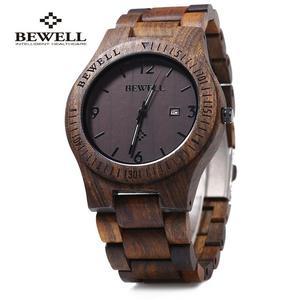 Zegarek drewniany Bewell Brace - 2859220589