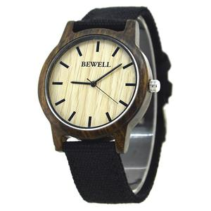 Elegancki zegarek drewniany Bewell Basic - 2859220579