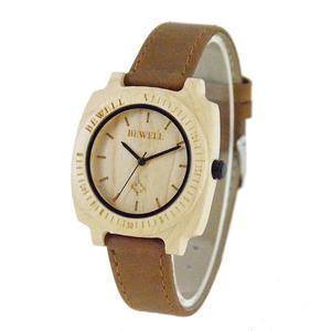 Drewniany zegarek damski Bewell Women - 2859220581