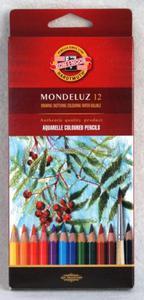 Kredki akwarelowe Mondeluz Koh-i-noor 12 kol - 2879075355