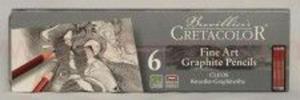 Zestaw ołówków Cretacolor 6 szt w metalowym opakowaniu - 2879076053