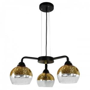 Cromina lampa wisząca 3-punktowa złota 33-57259 - 2857888721