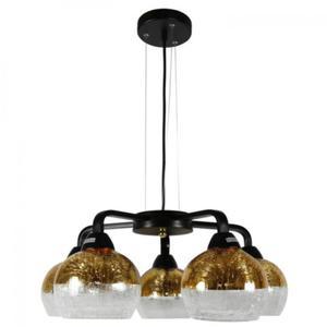 Cromina lampa wisząca 5-punktowa złota 35-57266 - 2857888722