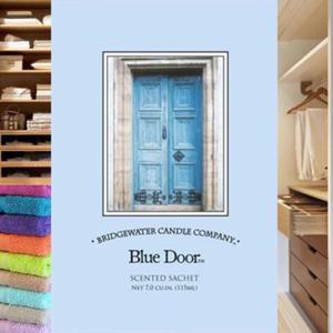 Saszetka zapachowa Blue Door. Zapach świeży - 2844809997