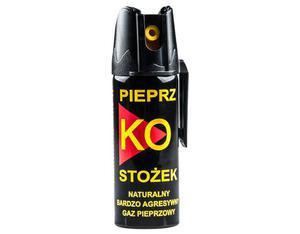 Gaz pieprzowy Ko FOG stożek 50ml z blokadą i klipsem - 2827840352