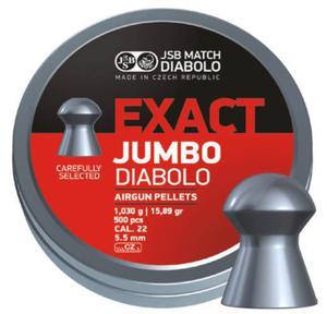 Śrut JSB Exact Jumbo Diabolo 5,5 mm 250 szt. - 2845076424