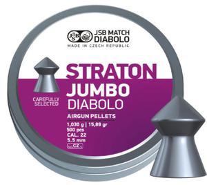 Śrut diabolo JSB Jumbo Monster Straton 5,51 mm 200 szt. - 2845076425