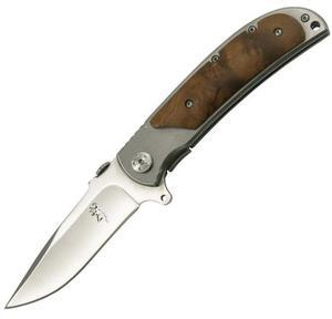 Nóż składany Wood Deer - 2827840457