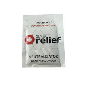 Chusteczka neutralizująca gaz pieprzowy - 2846533077