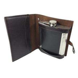 Piersiówka Wooden Case - 2847075011