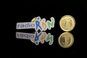 Pinsy metalowe z Twoim logo - kolorowy druk UV - PS014