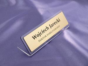 Wizytówka na biurko - wzór W002 - 2827299207