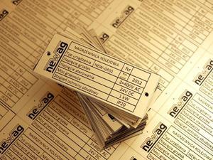 Tabliczka znamionowa - wymiar:75x30mm - 2827299401