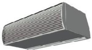 Aqua-air kurtyna powietrzna TOP/150/Z/1/0 - 1633251751
