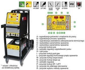 STEL - inwerterowa spawarka TiG - TiG-mP353 DC - 1633245042