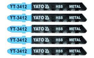 YATO Brzeszczot do WYRZYNARKI METAL TYP T 5SZT YT-3412 - 1633254761