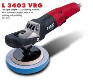 Polerka z regulatorem prędkości FLEX L 3403 VRG (299.278) - 1633245750