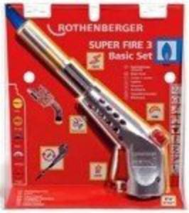 ROTHENBERGER SUPER FIRE 3 Zestaw MAPP - 1633246029