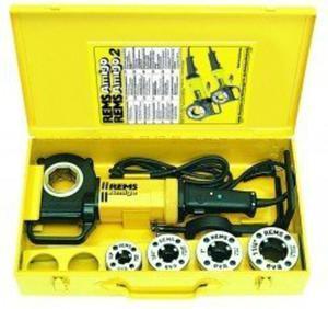 REMS Amigo Set M 20-40 Gwintownica elektryczna - 1633246753
