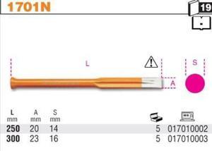 Beta 1701N/250 Przecinak budowlany płaski 250mm - 1633248952