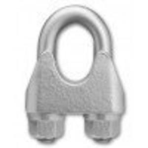 Robur 8016U/5 Zacisk linowy kabłąkowy ocynkowany 5mm - 1633249426