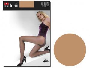 5006bdb53e4224 Rajstopy 20 den gładkie Beauty Adrian : Kolor Rajstop / Ponczoch - Opal,  Rozmiar Rajstop
