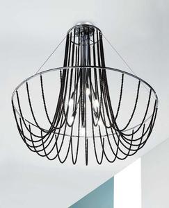 Plafon Evi Style FALL PL80 - kryształki Swarovski Spectra - 2849757229