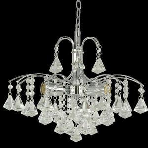 Lampa Wisząca kryształowa Elem Monte Carlo 6246/3 8C chrom - 2849766382