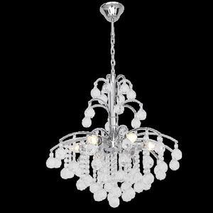 Lampa Wisząca kryształowa Elem Monte Carlo 6247/6 8C chrom - 2849766390
