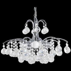 Lampa Wisząca kryształowa Elem Monte Carlo 6247/3 8C chrom - 2849766397