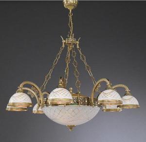 Lampa wisząca Reccagni Angelo L 7002/8+3 - 2849735410