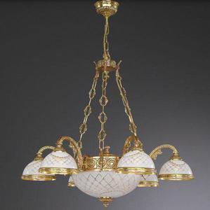 Lampa wisząca Reccagni Angelo L 7102/6+2 - 2849735453