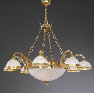 Lampa wisząca Reccagni Angelo L 7102/8+3 - 2849735454