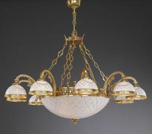 Lampa wisząca Reccagni Angelo L 7102/10+4 - 2849735455