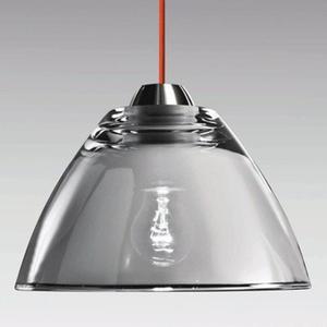 Lampa AV Mazzega MIRROR 40 cm SO3151 przydymione szkło - 2849740358