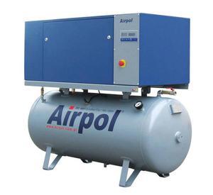 Kompresor śrubowy sprężarka AIRPOL K7 500l 8bar - K7 8 Bar - 2856407712