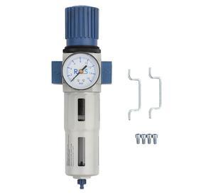 """Odwadniacz powietrza reduktor 1/2"""" z manometrem RQS - 1/2"""" - 2847266397"""