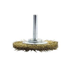 Szczotka druciana tarczowa Tip Top na wiertarkę fi 55mm - 2847266513