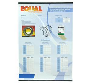 Proszek do wyważania kół Equal tabela dozowania - 2847265861