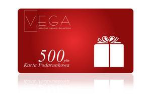 Karta Podarunkowa o wartości 500 PLN - 2826016129
