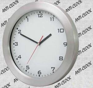 Anty zegar z aluminiową ramką - 2827615074