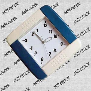 Anty zegar plastikowy kwadrat - 2827615083