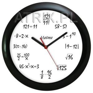 Kolekcja zegarów matematycznych - 2827615084