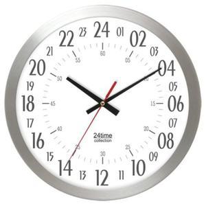 Zegar ścienny aluminiowy 24-godzinny #1 - 2827615184