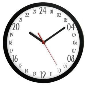 Zegar naścienny solid #1 24-godzinny - 2827615185