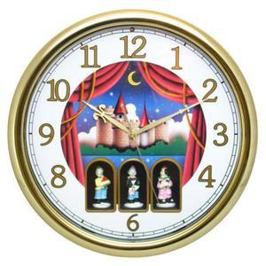 Zegar ścienny z muzyką Tańczący Klauni #2 - 2827615187