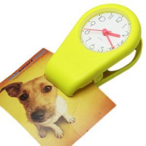 Zegar plastikowy z magnesem i klipsem - 2827615188
